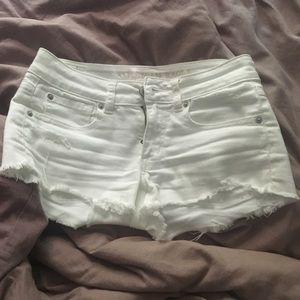 American Eagle White Shorts!